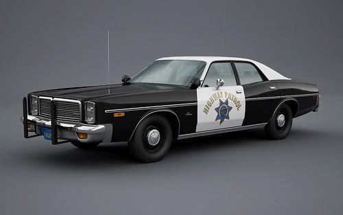 1977 dodge monaco california highway patrol robin 7t4