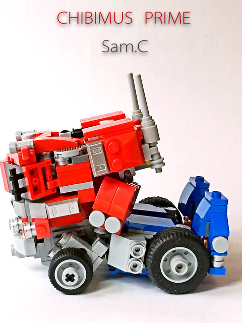 LEGO Transformers: Chibimus Prime- Truck Side