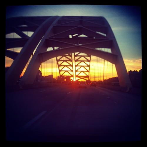 Back across the #OhioRiver into #Ohio. #BigMacBridge