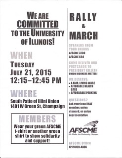 AFSCME Rally 2015