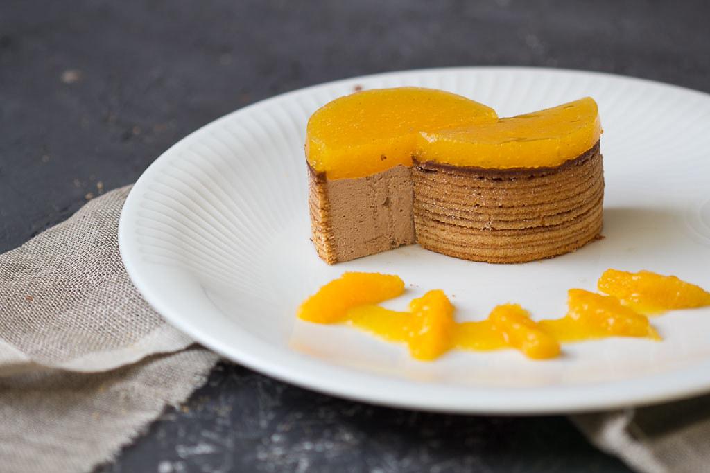 Baumkuchen mit Schokoladenmousse via lunchforone