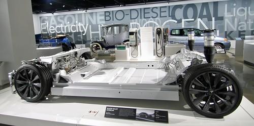 2015 Tesla Model S P85D Chassis - Petersen Museum (7774)