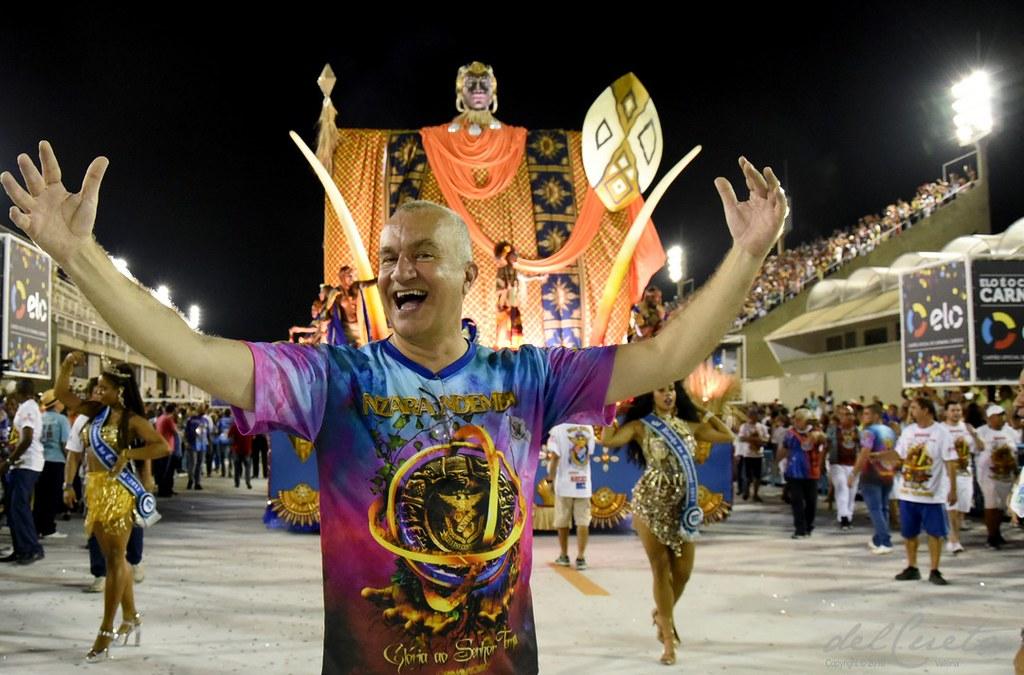 União da Ilha carnaval 2017, ensaio técnico