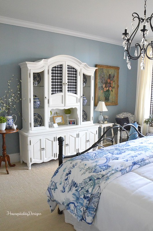 Guest Room-Blue and White-Housepitality Designs