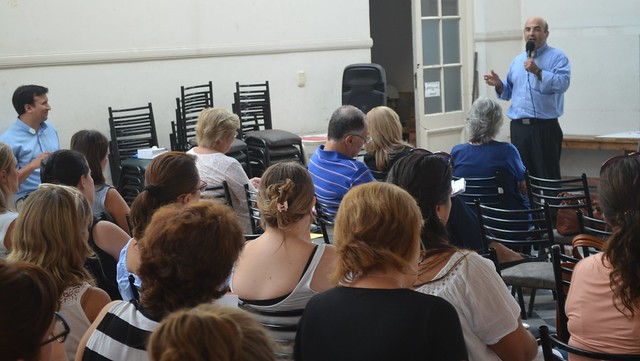 Sáenz: primera jornada de formación