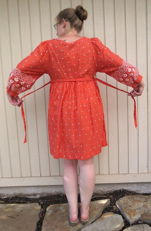 Flower Child Dress - Before