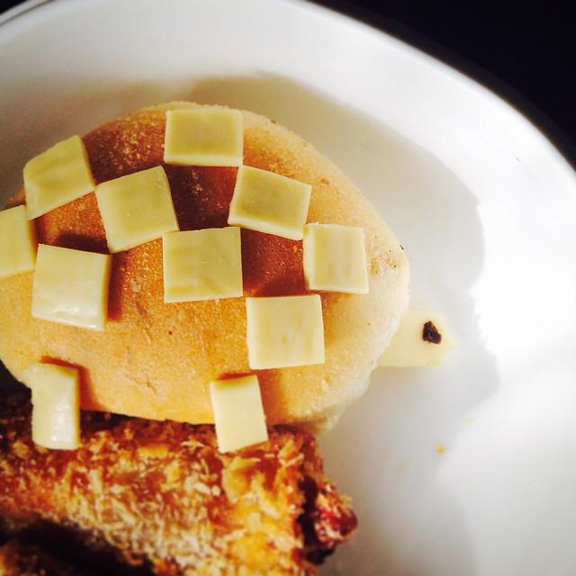 Bento turtle sandwich