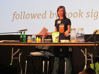 Bianca's kombucha demonstration