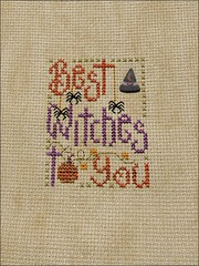Best Witches To You cross stitch