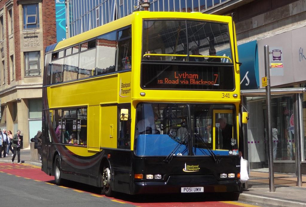 Blackpool Transport 341 Po51 Umv Blackpool Transport