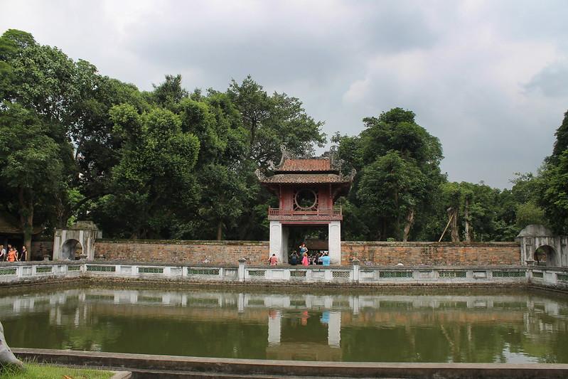 Thiên quang tỉnh - Well of Heavenly Clarity, Văn Miếu - Temple of Literature, Hà Nội