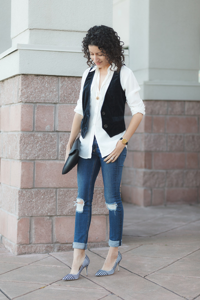 petite-fashion-jcrew-velvet-vest