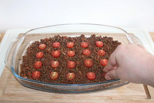 42 - Kirschtomaten hinzufügen / Add cherry tomatoes