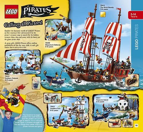 LEGO catalogue 2HY2015 Pirates