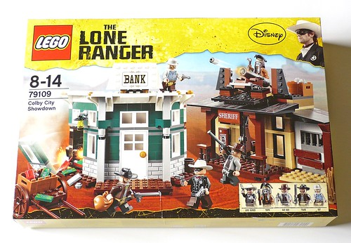 LEGO The Lone Ranger 79109 Colby City Showdown box01