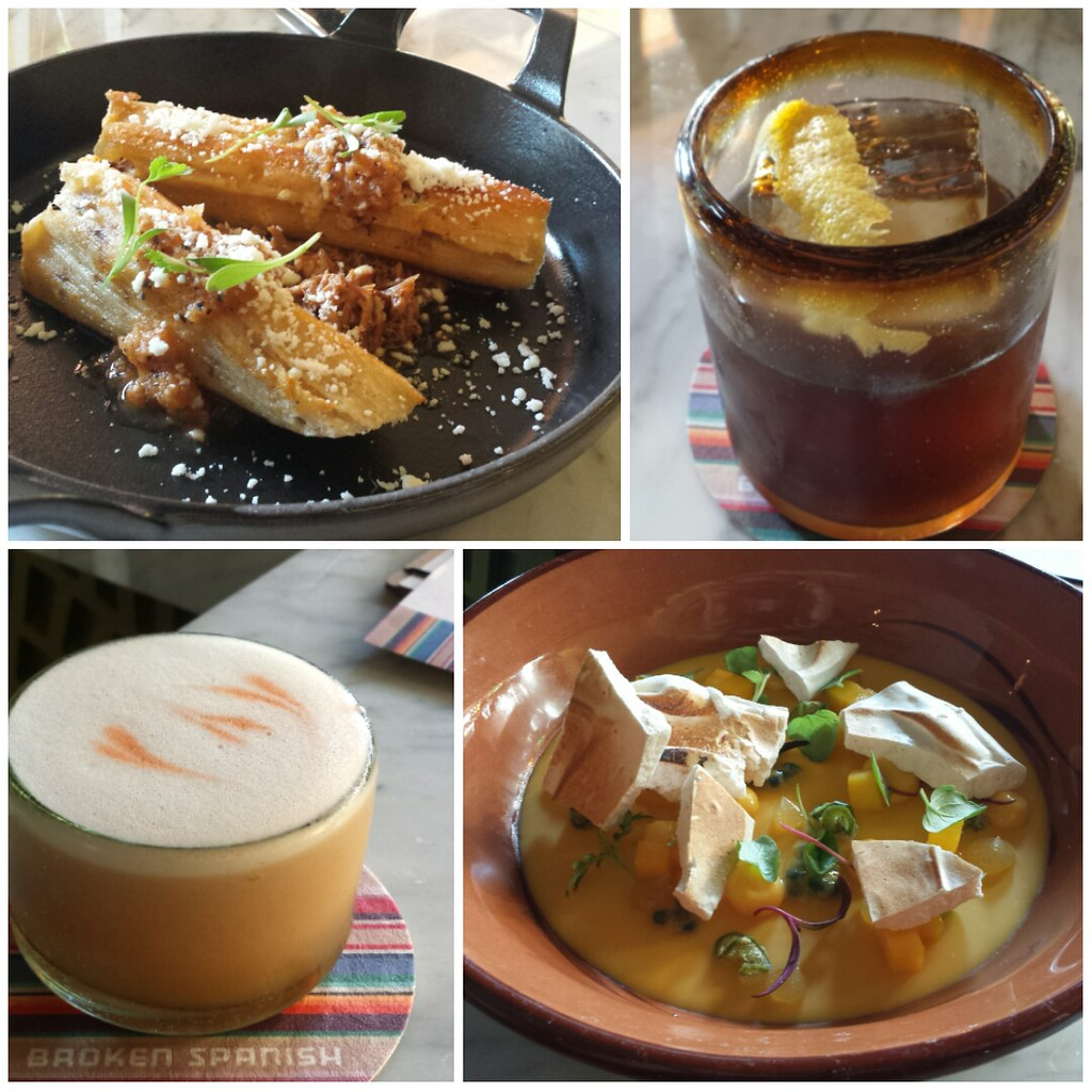 spanish drinks food