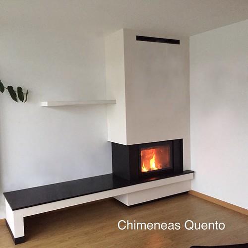 Chimenea quento modelo frank angular - Chimeneas quento ...