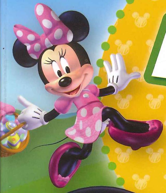 La Casa de Mickey Mouse (Tierna Minnie Mouse con brillos) | Flickr