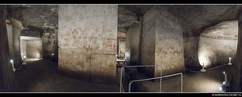 La Cisterna del Corridoio o del Comandante #3
