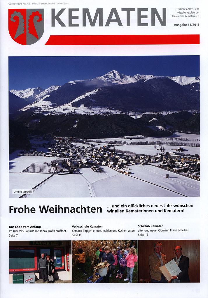 Kematen Offizielles Amts Und Mitteilungsblatt Der Gemeind Flickr