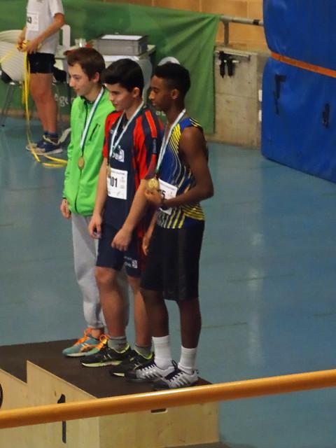Championnats vaudois en Salle 2017