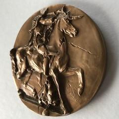 L'Unicorne Dyonisiaque Medal obverse2
