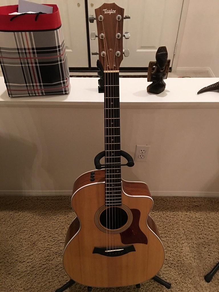 Taylor 245 CE Acoustic guitar