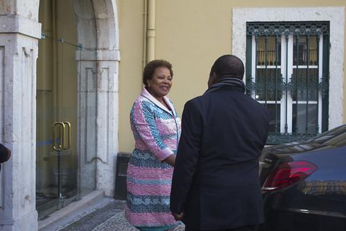 Secretária Executiva recebe Terceiro Vice-Primeiro Ministro Responsável pelos Direitos Humanos da Guiné Equatorial