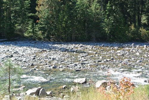 Tourus Interruptus day 3 - Last view of the Little Salmon la Sac River