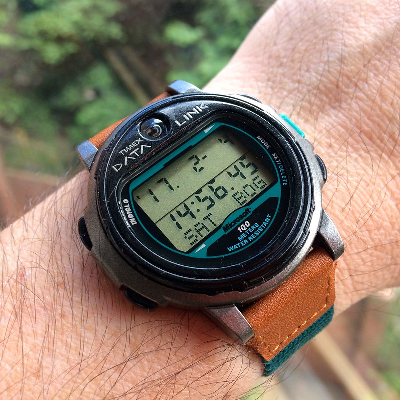 My Timex Data Link Collection - The NASA Smart Watch