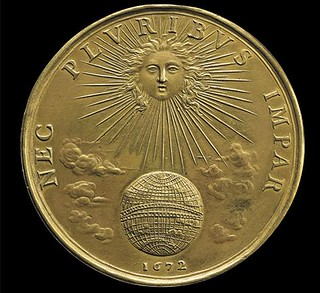 1672 Medal of Louis XIV as the sun