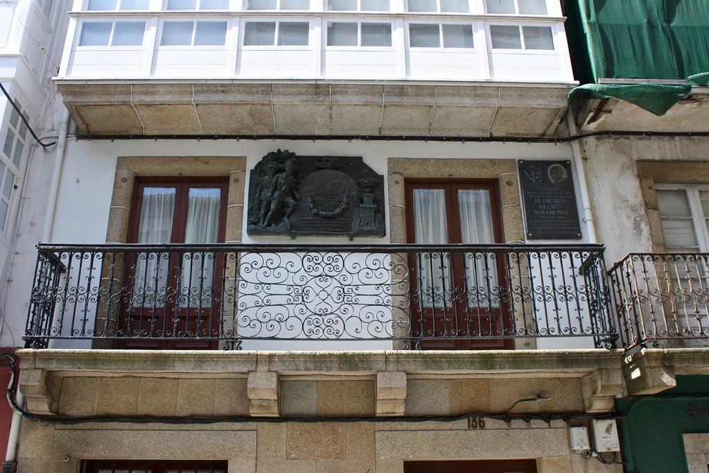 Resultado de imagen de casa de Franco en Ferrol