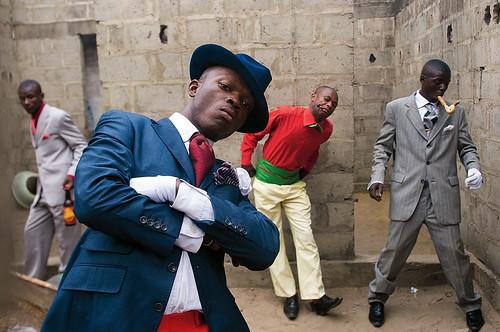 『SAPEURS - Gentlemen of Bacongo』p106-107