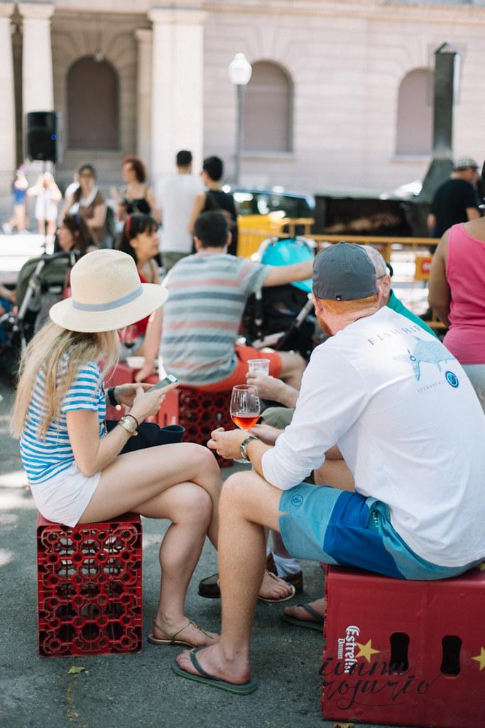 street food born