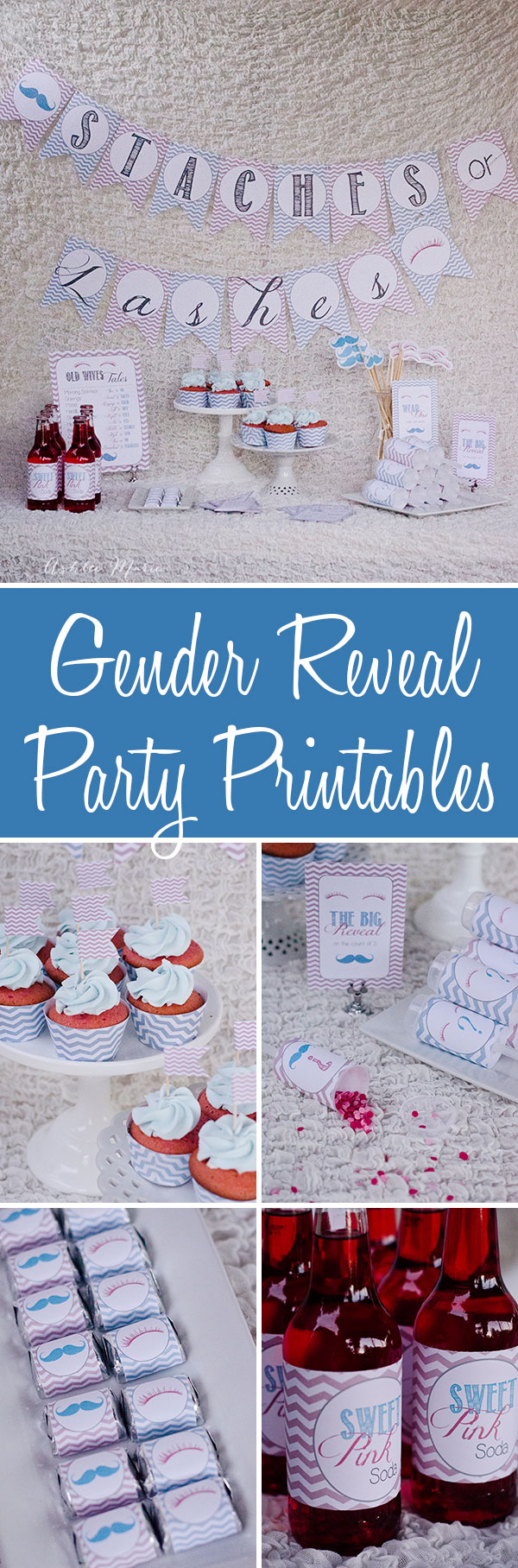 printables for your gender reveal and other baby shower parties