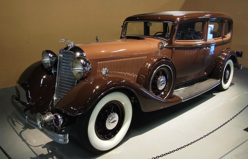 1933 Lincoln Kb V 12 4 Door Sedan 3l 66 01