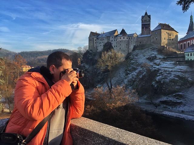 Sele en el castillo de Loket (República Checa)