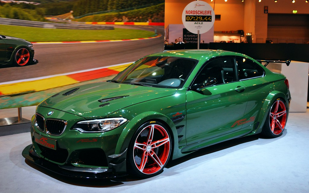 Ac Schnitzer Acl2 Concept Car 2016 Power 570 Cv Max To Flickr