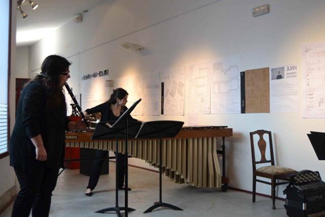 Concierto de txistu, acordeón y marimba,marzo de 2016 vía Facebook de Artziniega Museoa