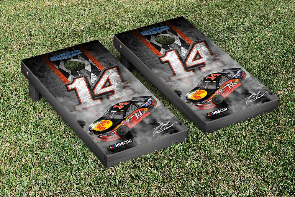 TONY STEWART #14 CORNHOLE GAME SET PIT ROW VERSION (1