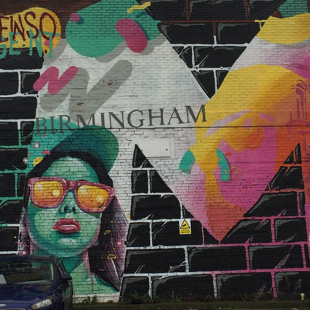 Birmingham streetart