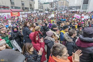 manif des femmes women's march montreal 65 | by Eva Blue