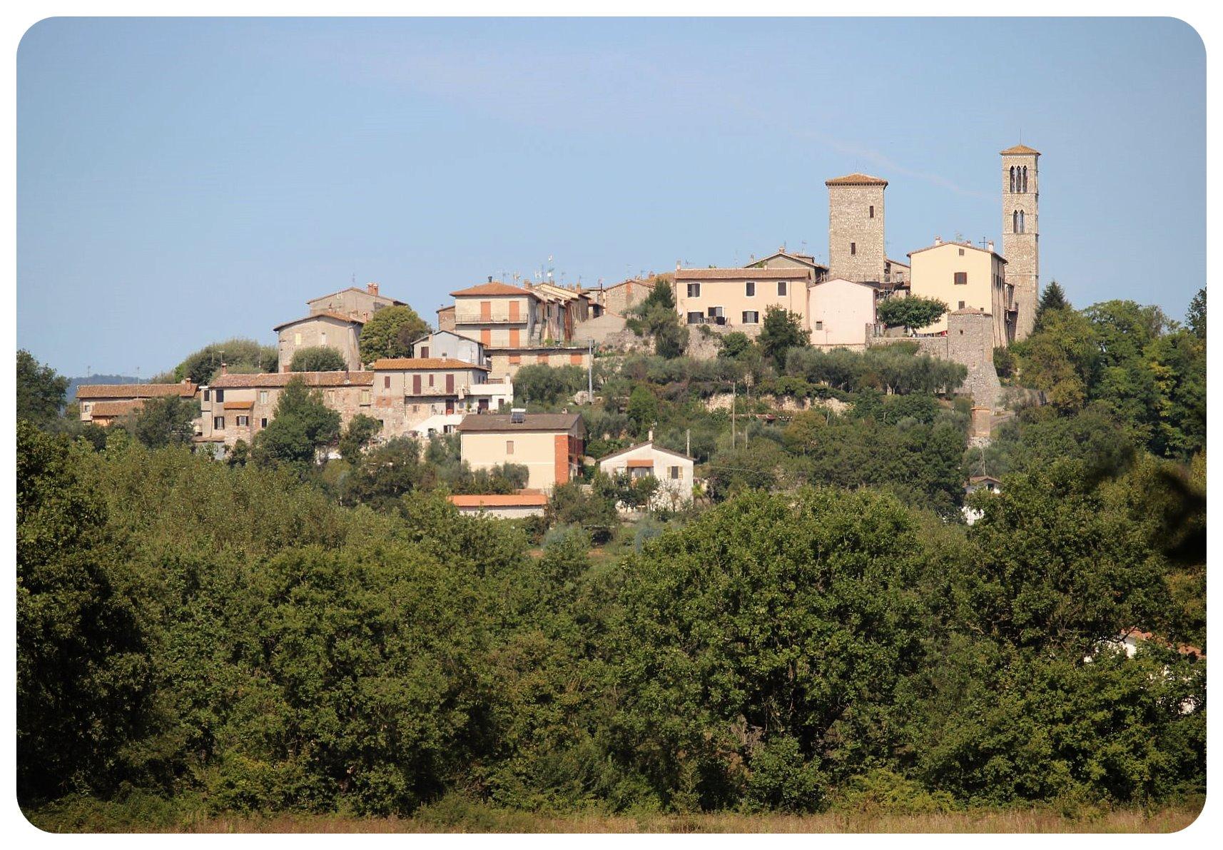 umbrian village
