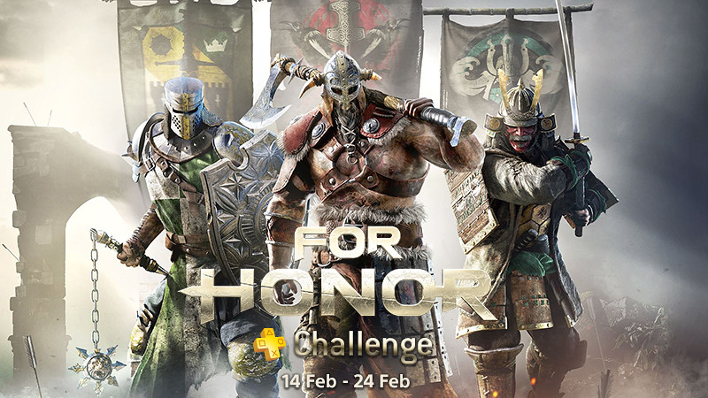 PlayStation®Plus For Honor Challenge