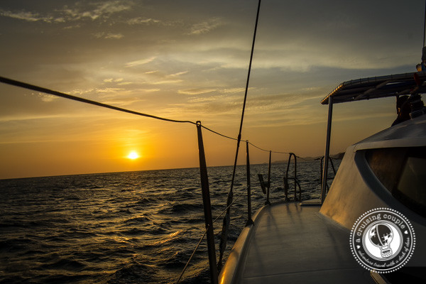 Sunset Sailing San Juan del Sur Nicaragua