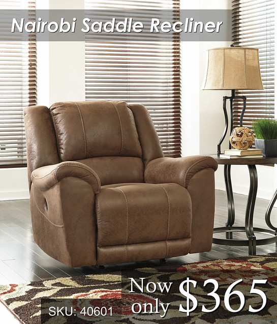 Nairobi Saddle Recliner