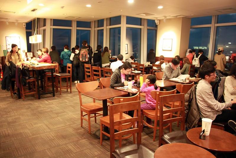 Starbucks統一星巴克-省錢上101高樓-台北景色咖啡館  (27)
