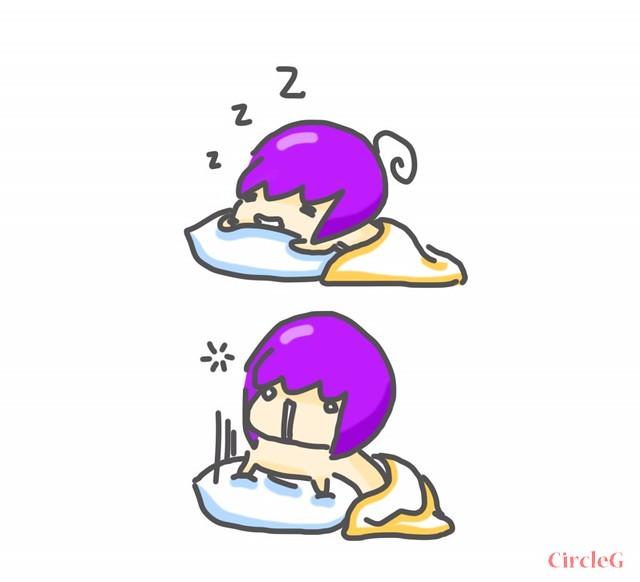 CIRCLEG 腦點系列 一起的時光最好 睡眠 枕頭 陪你睡到天光 温馨 SWEET (1)