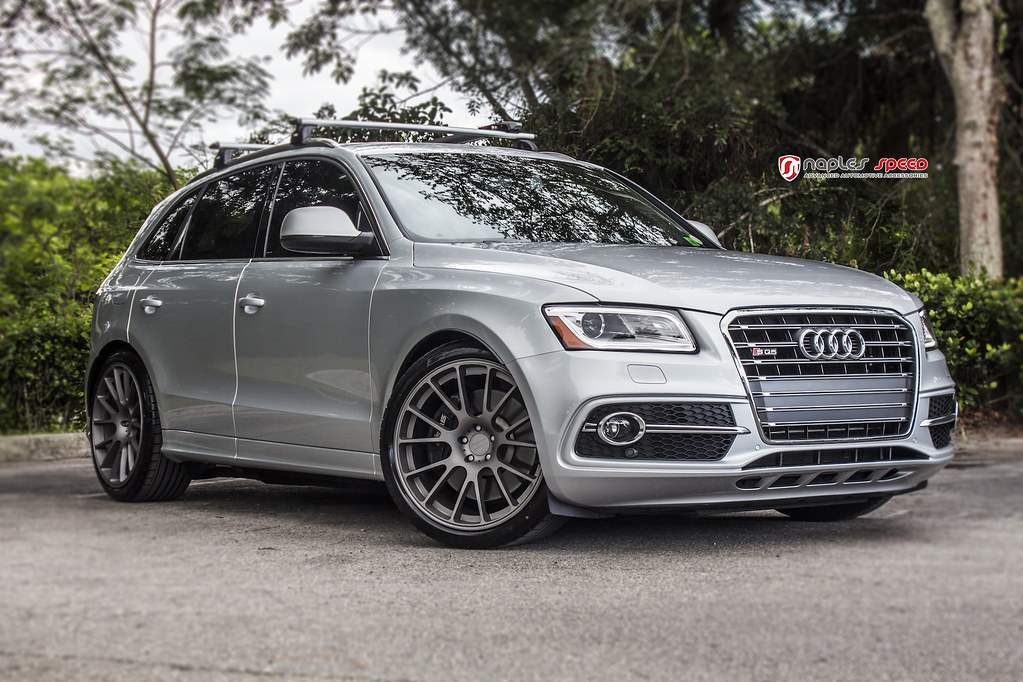 Audi Sq5 Audi Sq5 Lowered Naples Speed Flickr