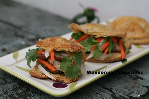 Banh Pa Te So Nhan Banh Mi (Vietnamese Pate Chaud (French Hot Pastry Pie) with Sandwich Fillings) 1
